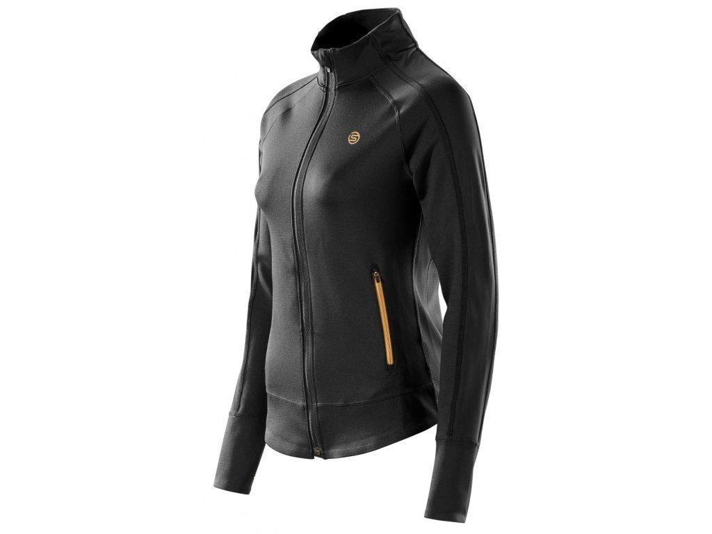 mikina skins plus ncg womens warm up jacket black 0.jpg.big