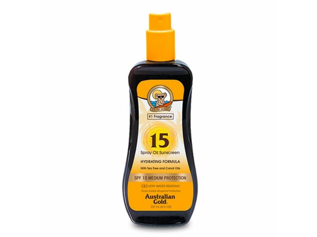 Australian Gold SPF 15 spray oil sunscreen