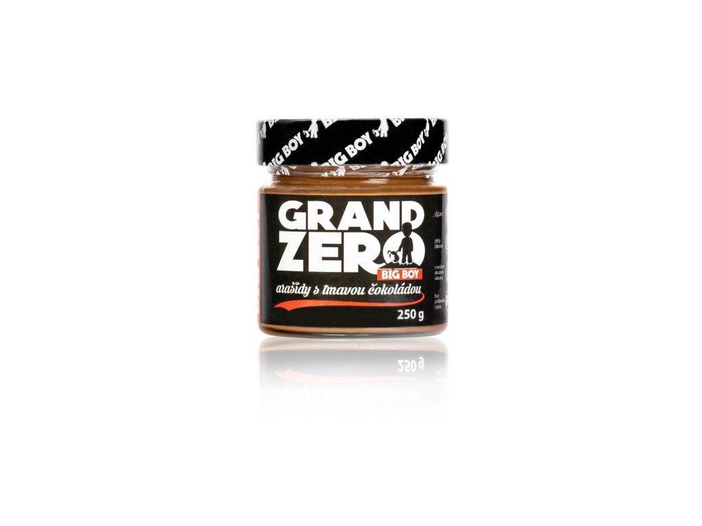 kremy big boy grand zero s tmavou cokoladou 250g