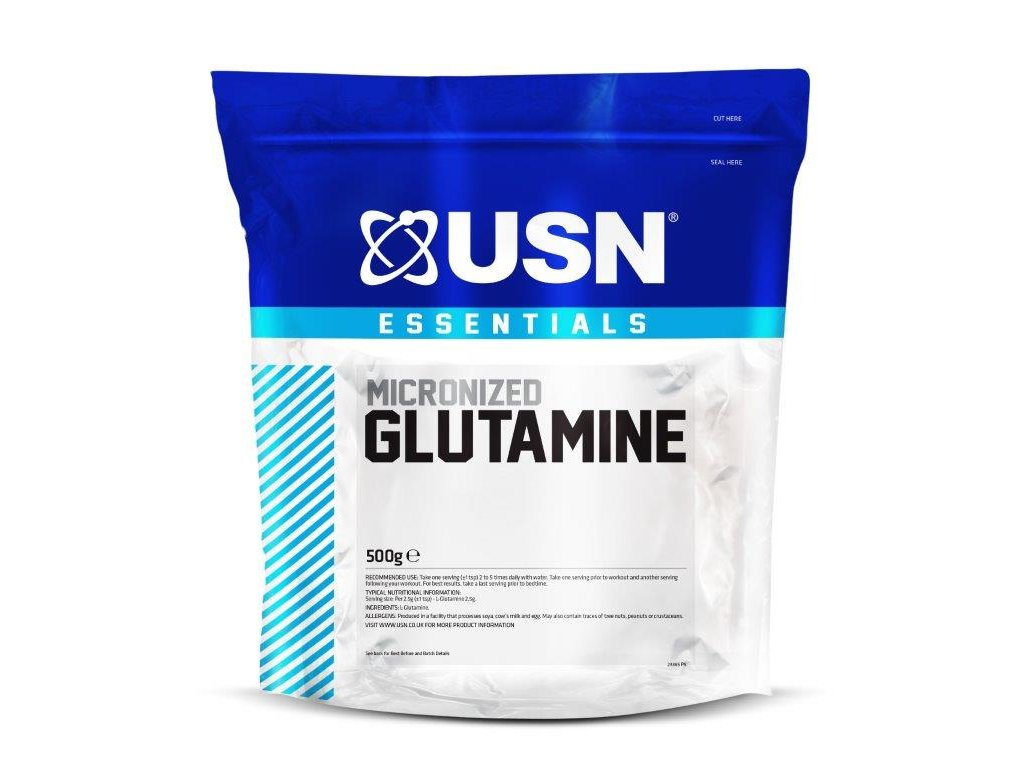MICRONIZED GLUTAMINE 500g BAG