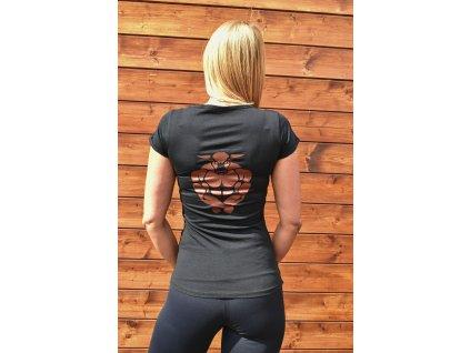 TAURUS Dámské tričko bronze