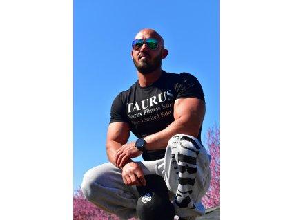 TAURUS Pánské tričko silver