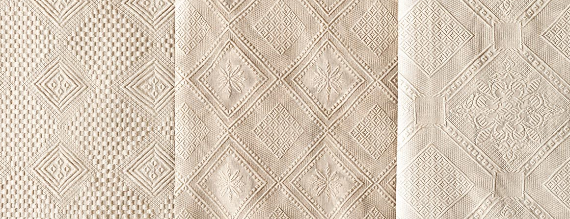 materiál na přehozy 100% bavlna