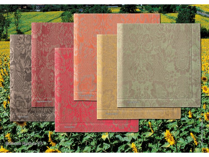 lněné ubrusy Botticelli