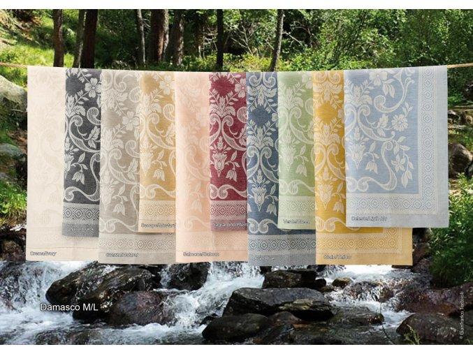 luxusní ručníky Damasco