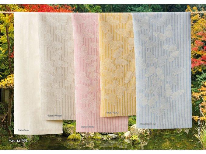 hladce tkaný ručník Fauna