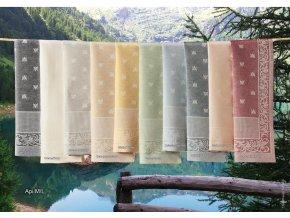 luxusní ručníky Api