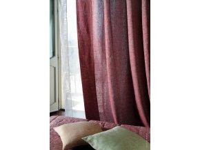 Kolekce Anfora - lněná záclona tenká