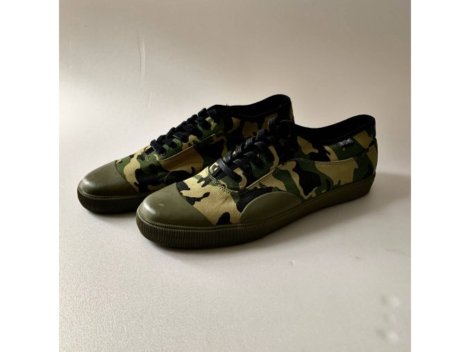 Iron Fist camo canvas shoes