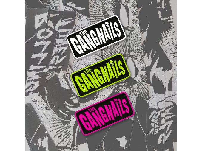 Gangnails patch b/w