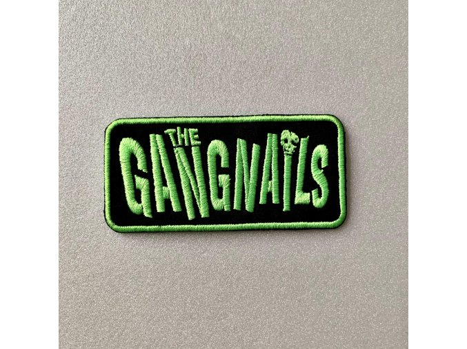 Gangails patch poison green