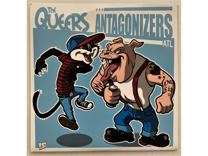 Antagonizers Atl/the Queers split ep