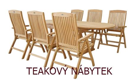 Teakový nábytek