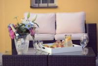 Bellevue Hotel v Českém Krumlově sází na posezení v zahradní sestavě Daylight z eshopu Teak-Shop.cz