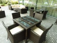 Zahradní sestava Garden Dream + stoly a křesla z kolekce Neapol od Nábytek Nünning