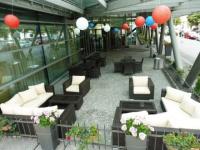 Mariott Hotel na Praze 3 využívá zahradní sestavu Garden Dream od Nábytek Nünning