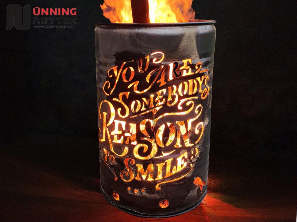 Feuertonne Reason to smile 2