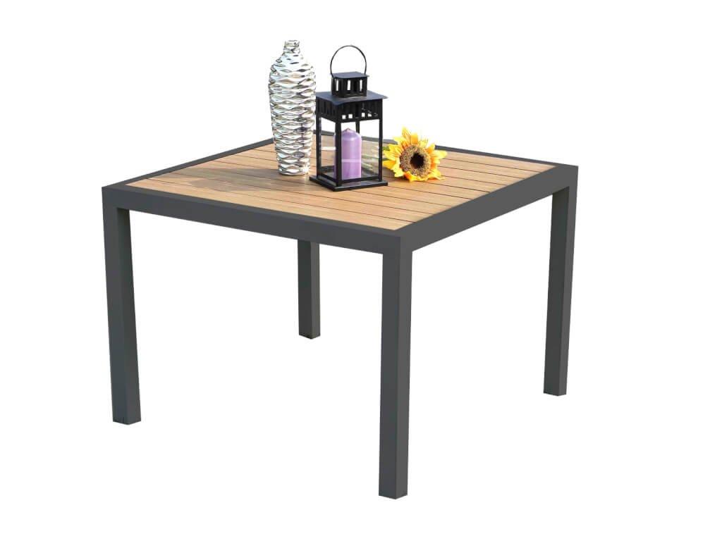 Zahradní hliníkový Lounge stůl Alabama šedý