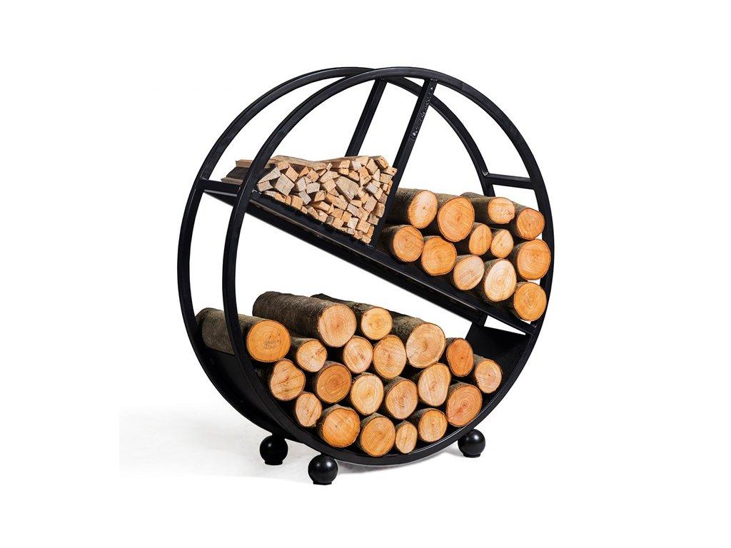 333237 Zasobnik na drevo DIEGO 80cm Cookking