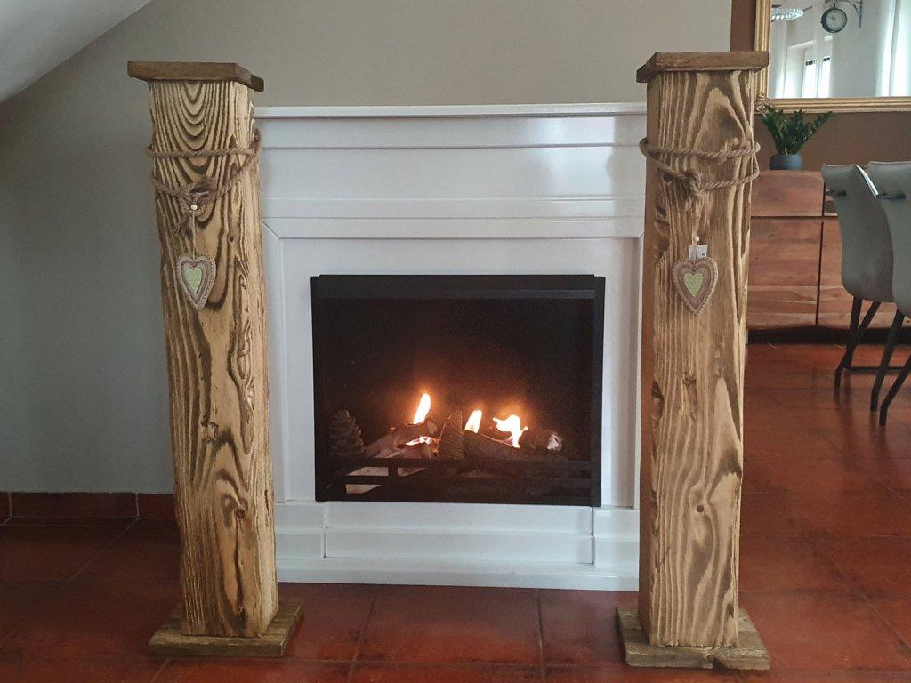 Dřevěný stojan