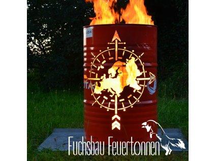 Feuertonne Europakarte Onlineshop