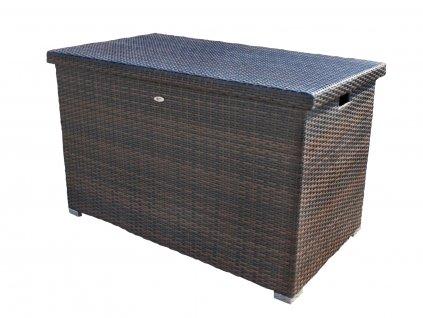 Box na polstry z umělého ratanu