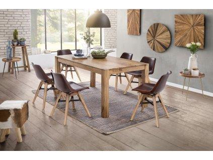 Jídelní stůl Mona Akácie Masiv Natur