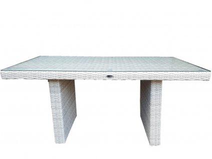 Umělý ratan vysoký konferenční stůl