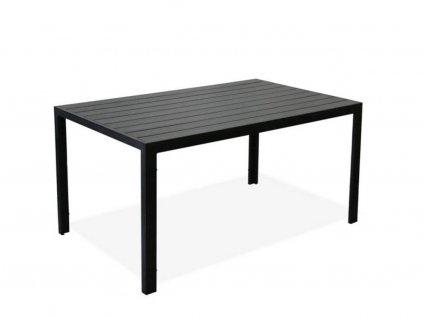 Zahradní jídelní stůl Amy černý