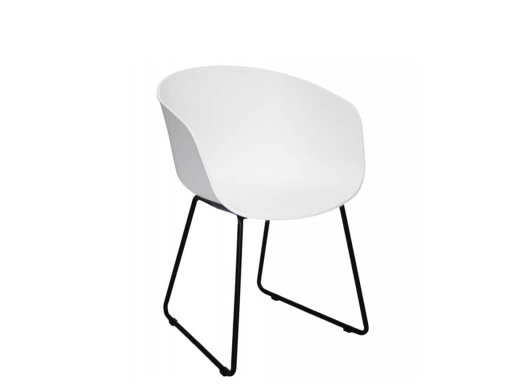 Zahradní židle Amy bílá