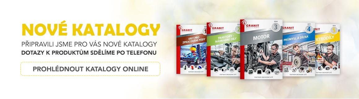 Nové online katalogy