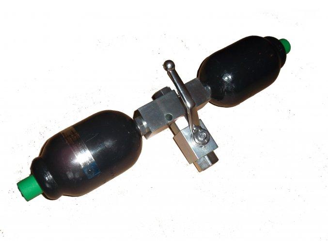 Hydroakumulátor  - tlumič kmitů sada