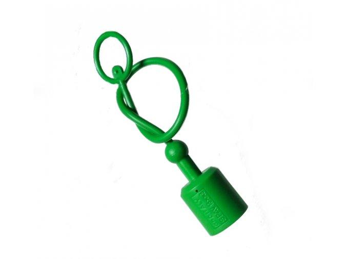 Prachovka zástrčky  ISO 12,5  zelená
