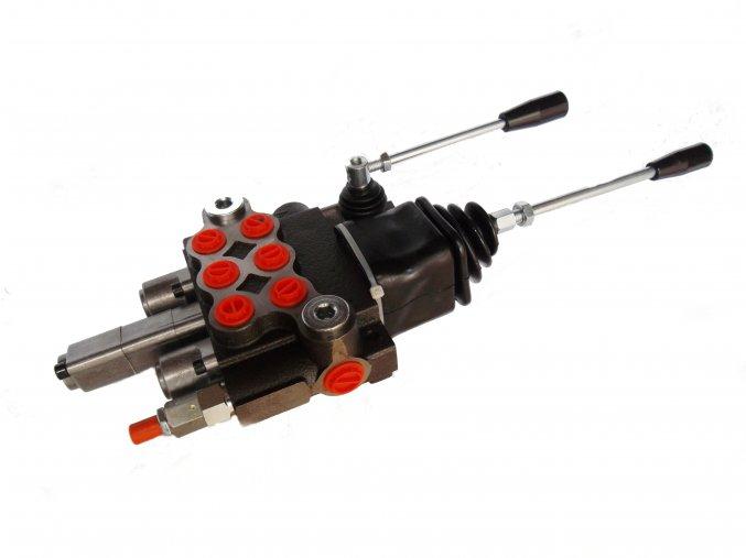 Hydraulický rozvaděč 3/40 s plovoucí polohou, s joystickem