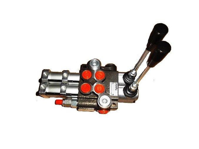 Hydraulický rozvaděč 2/80 pneumaticky ovládaný