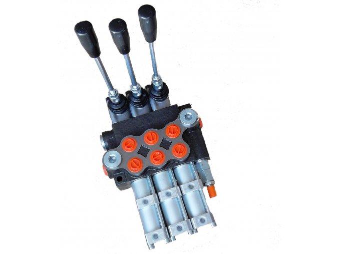 Hydraulický rozvaděč 3/80 pneumaticky ovládaný
