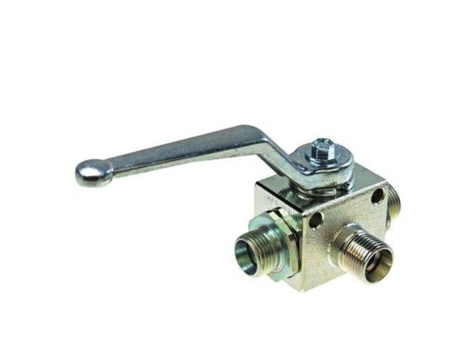 Třícestný kulový ventil přepínací BK3 10L  M16x1,5