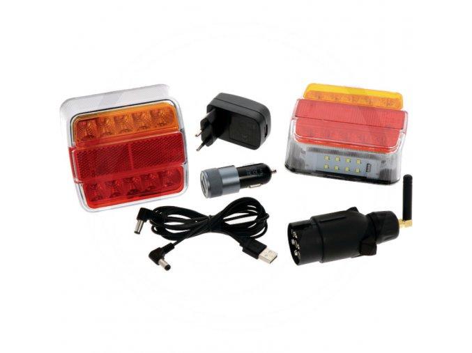 LED magnetické osvětlení -  magnetická světla 12V/24V bezdrátová