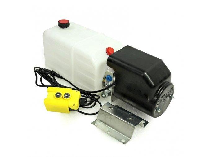 Hydraulický agregát 12 VDC 1,6kW 12 litrů