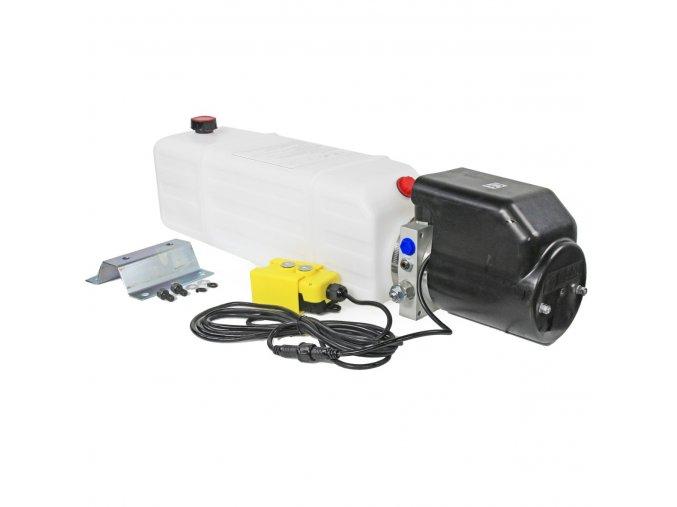 Hydraulický agregát 12 VDC 2,0 kW 12 litrů
