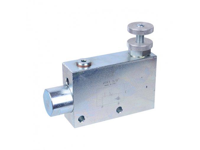 """3-cestný regulační ventil průtoku VPR3 1/2"""" BSP"""