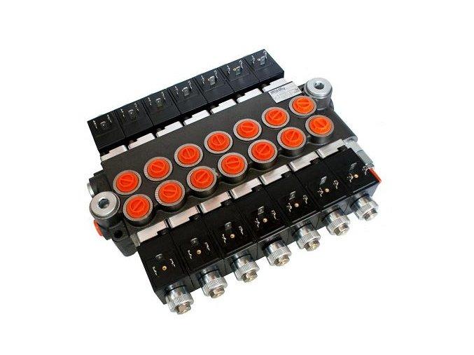 Hydraulický rozvaděč elektricky ovládaný 7/50 24 VDC