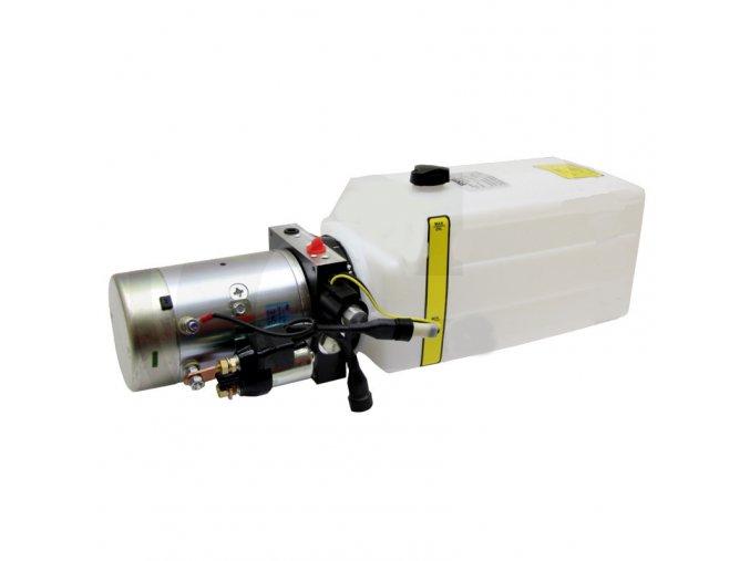Hydraulický agregát 12 VDC 1,6 kW 7 litrů