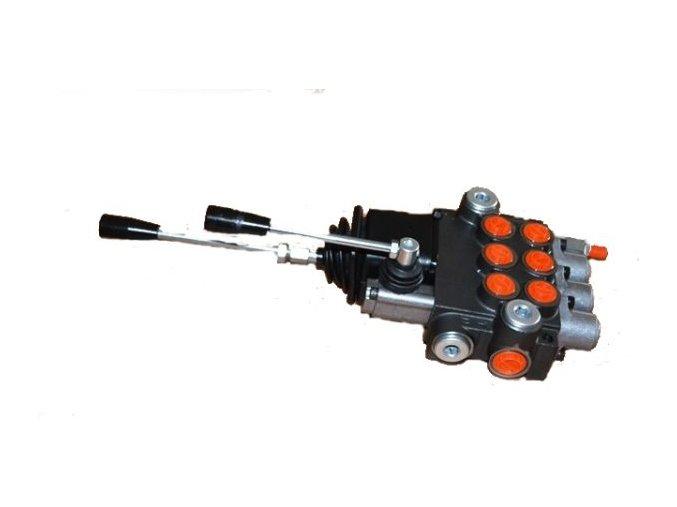 Hydraulický rozvaděč 3/40 s joystickem