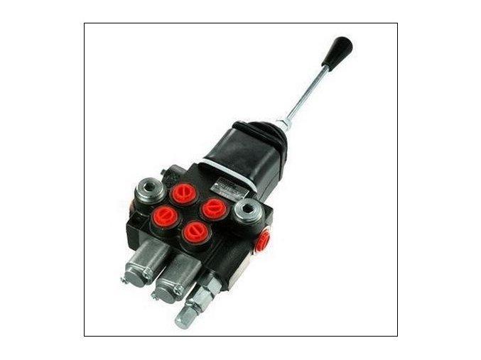 Hydraulický rozvaděč 2/40 s joystickem