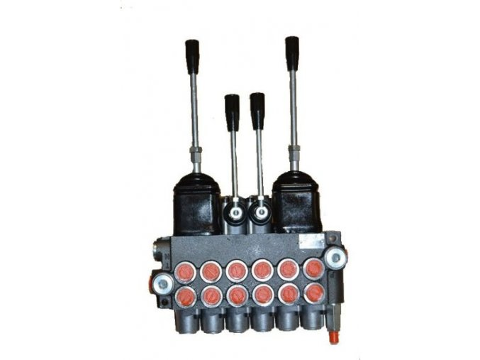 Hydraulický rozvaděč 6/80 s joysticky