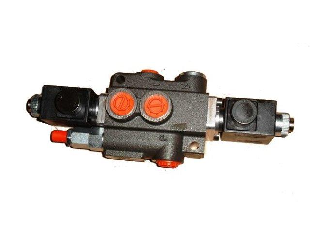 Hydraulický rozvaděč elektricky ovládaný 1/50  12 VDC