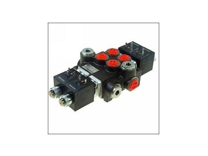 Hydraulický rozvaděč elektricky ovládaný 2/50  24 VDC