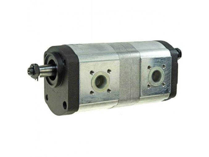 Tandemové hydraulické čerpadlo zubové  PH28 DEUTZ/JOHN DEERE/CASE 16+11 CC