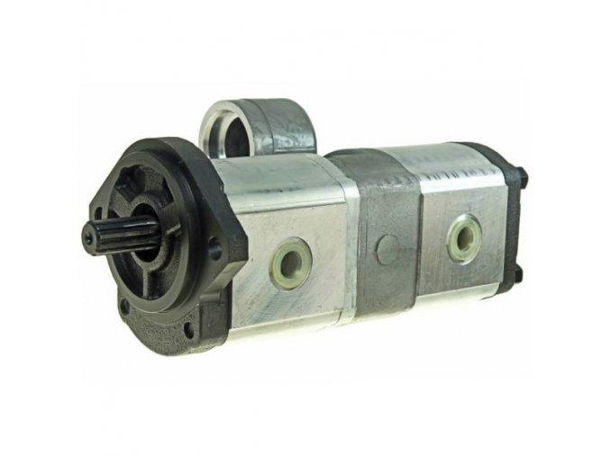 Hydraulické čerpadlo zubové  PH15B MASSEY FERGUSON  22,5+18 CC